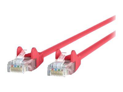 Belkin High Performance patch cable - 7.6 m - red - B2B