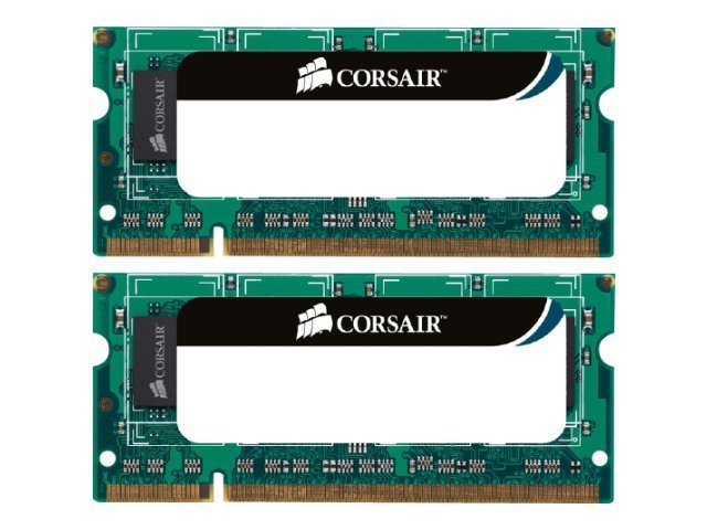 Corsair - DDR3 - 8 GB: 2 x 4 GB - SO DIMM 204-PIN - 1333 MHz / PC3-10600 - CL9
