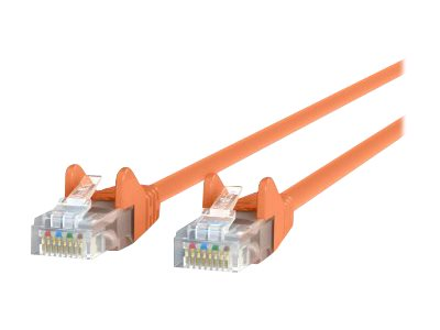 Belkin High Performance patch cable - 2.1 m - orange