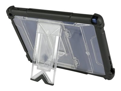 MAXCases Shield Extreme Back cover for tablet silicone, polycarbonate, TPE clear