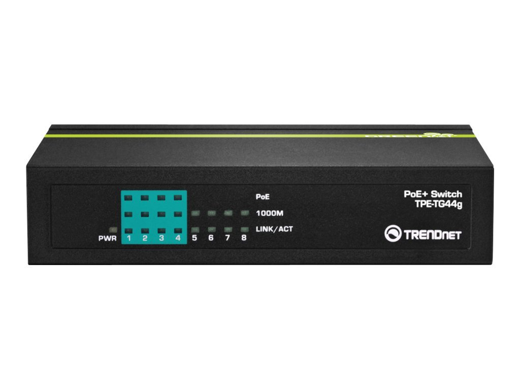 TRENDnet TPE TG44g - switch - 8 ports
