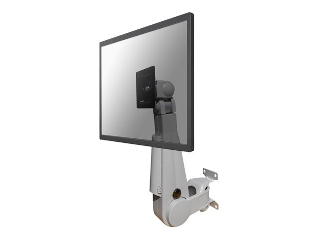 "NewStar TV/Monitor Wall Mount (Full Motion & gas spring height adjustable) FPMA-W500 - Montage mural pour Écran LCD - gris - Taille d'écran : 10""-30"""