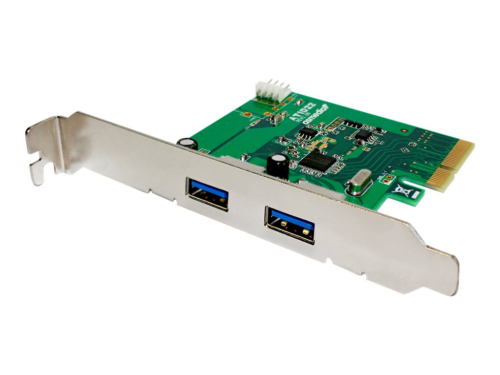 Fantec - USB-Adapter - PCIe - USB 3.1 x 2