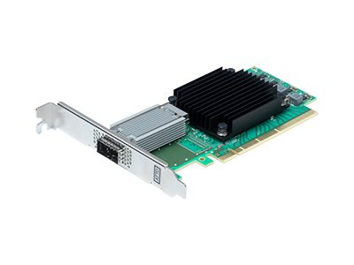 ATTO FastFrame N351 Network adapter PCIe 3.0 x8 50 Gigabit QSFP28 x 1