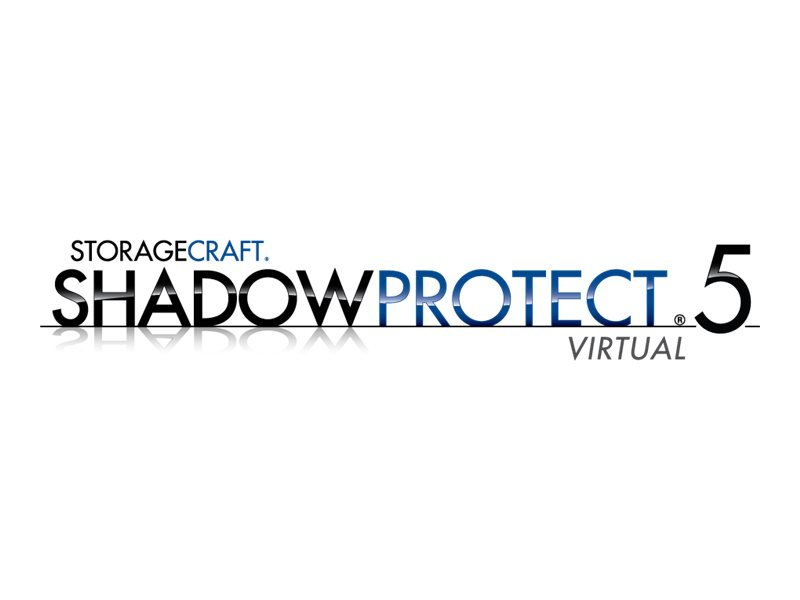 ShadowProtect Virtual Server (v. 5.x) - upgrade license + 1 Year Maintenance - 24 virtual machines