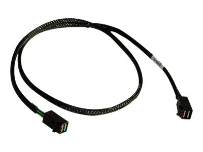 LSI - Internes SAS-Kabel - SAS 12Gbit/s - 4-Lane - 4x Mini SAS HD (SFF-8643) (M) bis 4x Mini SAS HD (SFF-8643) (M) - 60 cm