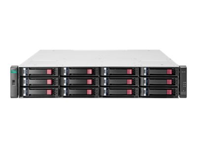 HPE Modular Smart Array 2042 SAN Dual Controller with Mainstream Endurance Solid State Drives LFF Storage - hard drive …
