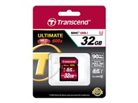 Transcend - Carte mémoire flash - 32 Go - Class 10 - SDHC