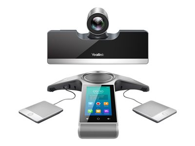 Yealink VC500 - video conferencing kit - with 2x CP Wireless Expansion Mic  CPW90, Yealink VCS Phone CP960, Remote Control VCR11 and Cable Hub VCH50