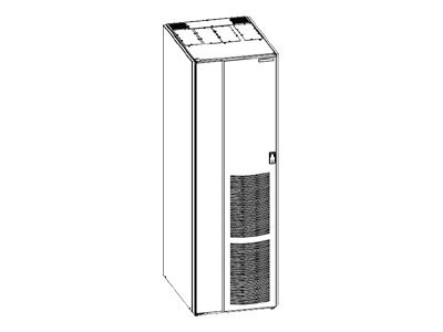 Powerware Integrated Accessory Cabinet Distribution - power distribution cabinet