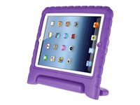 i-Blason ArmorBox Kido Protective cover for tablet silicone, polycarbonate purple