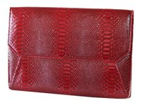 Francine Collections Lexington Avenue Snake Protective sleeve for tablet faux leather red