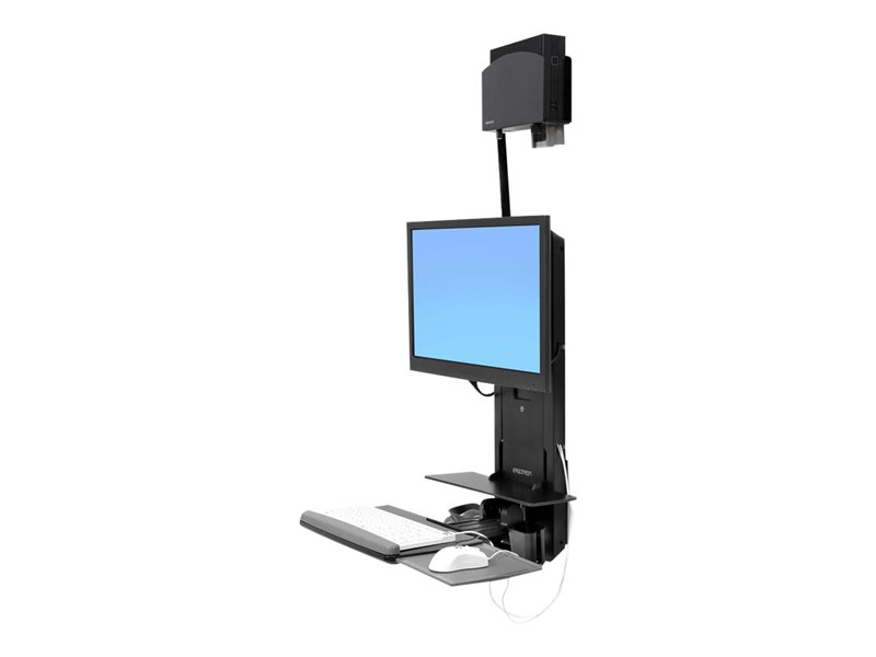 Ergotron Sit-Stand Vertical Lift, Patient Room - kit de montage