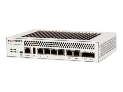 Fortinet FortiGate Rugged 60D Security appliance GigE DC power