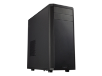Fractal Design Core 2300 - Mid tower - ATX - no power supply (ATX) - black - USB/Audio