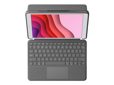 Logitech Combo Touch Keyboard Case for iPad (7th and 8th gen)