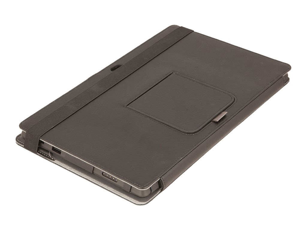 Urban Factory Elegant Folio Surface 2 Black - protective cover for tablet