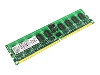 Transcend - DDR2 - 2 GB - DIMM 240-pin - 800 MHz / PC2-6400 - CL6 - 1.8 V - registered - ECC