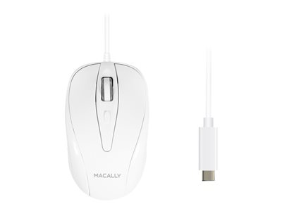 Macally UCTURBO Mouse right and left-handed optical 3 buttons wired USB-C