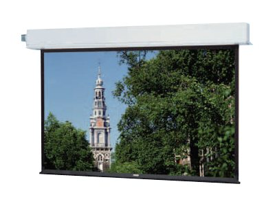 Da-Lite Advantage Electrol SQUARE Format Projection screen ceiling mountable motorized
