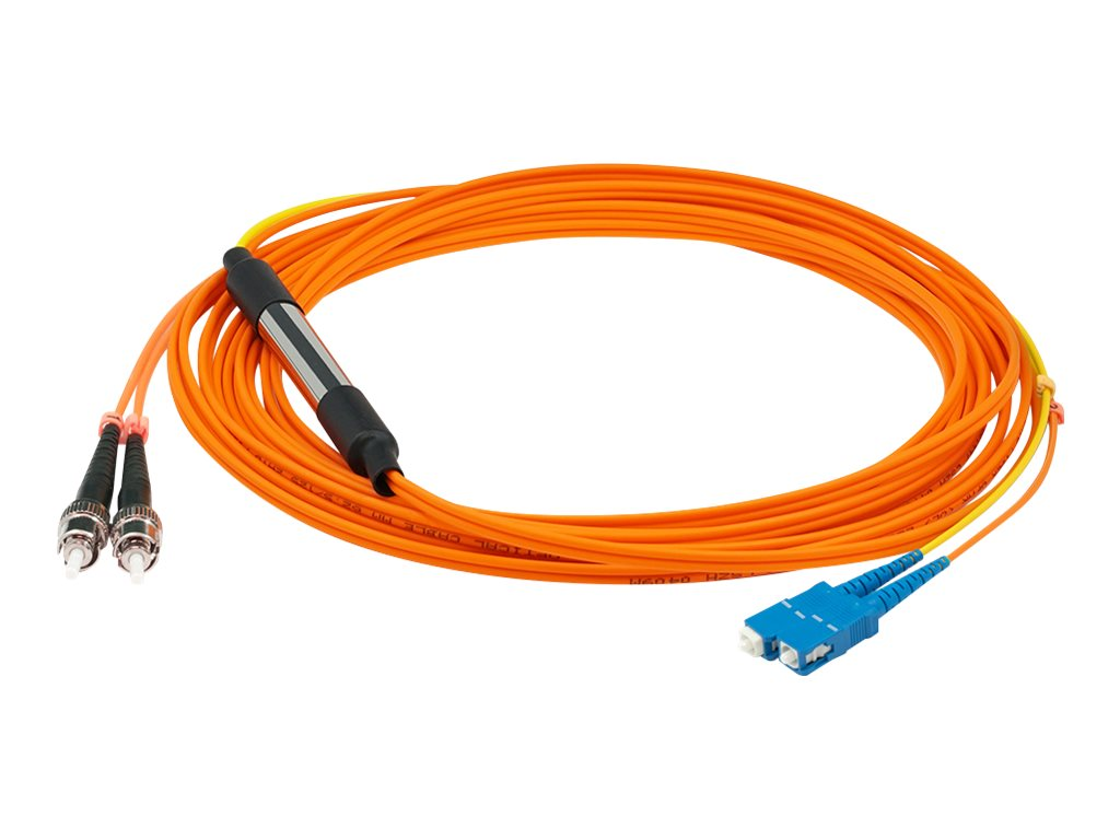 AddOn 1m SC to ST OM2 & OS1 Mode Conditioning Cable - mode conditioning cable - 1 m