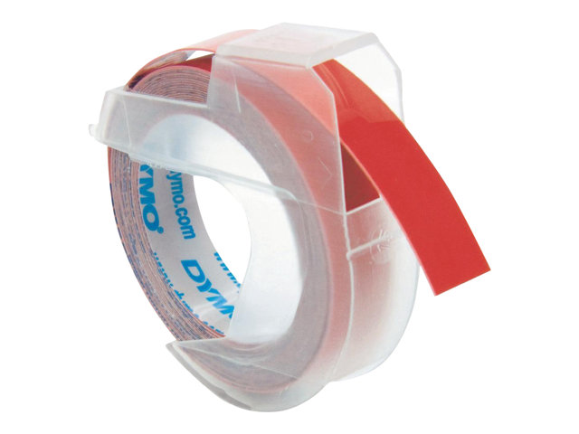 Image of DYMO - 3D embossing tape - 1 roll(s) - Roll (0.9 cm x 3 m)