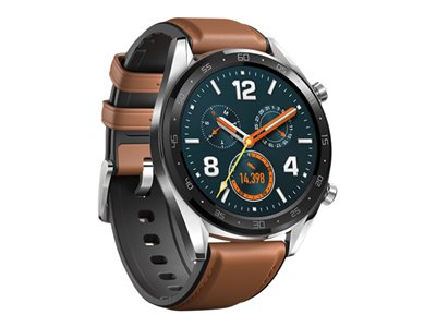 Huawei Watch GT Classic 46.5 mm Sort Sølv Smart ur