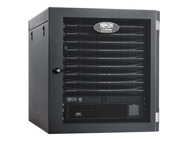 Tripp Lite EdgeReady Micro Data Center - 9U, Heavy-Duty, Wall-Mount, 1.5 kVA UPS, Network Management and PDU, 120V Kit - Rack - cabinet - floor-standing - 9U - 19