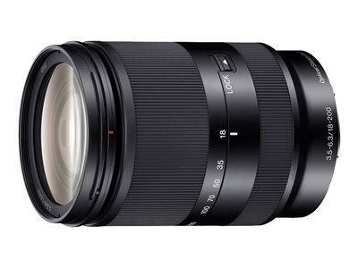 Sony SEL18200LE Zoom lens 18 mm 200 mm f/3.5-6.3 OSS Sony E-mount
