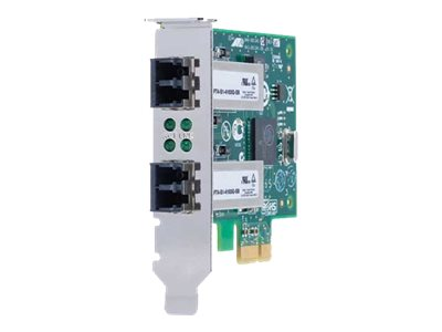 Allied Telesis AT-2911SX/2LC - Netzwerkadapter - PCIe 2.0 Low Profile - 1000Base-SX x 2 - 850 nm