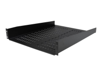 StarTech.com 2U 22in Vented Fixed Rack Mount Cantilever Shelf 50lbs / 22kg