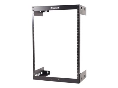 C2G 30U Wall Mount Open Frame Rack 12in Deep (TAA Compliant) Rack wall mountable black