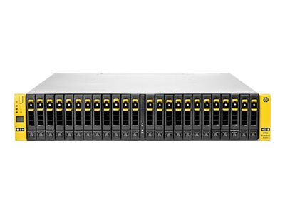 HPE 3PAR StoreServ 7400 2-node Storage Base Hard drive array 24 bays (SAS-2)