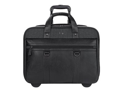 SOLO Executive Collection Bradford 17.3INCH Rolling Case Notebook carrying case 17.3INCH blac