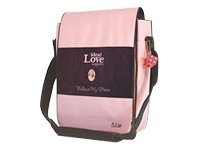 Mobile Edge Cutebug Hipster Notebook carrying case 14.1INCH burgundy, pink