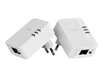 TRENDnet TPL-406E2K Bridge HomePlug AV (HPAV) wall-pluggable