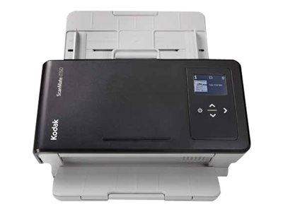 Kodak SCANMATE i1150 - Document scanner - 8.46 in x 14 in - 600 dpi x 600 dpi - up to 30 ppm (mono) / up to 30 ppm (color) - ADF (75 sheets) - up to 3000 scans per day - USB 3.0
