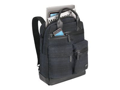 SOLO Highland Collection Alastair Vertical Notebook carrying backpack 15.6INCH plaid