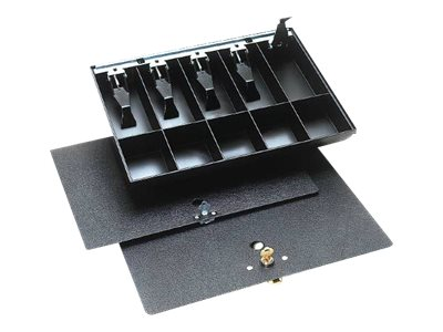 Duralite Cash drawer tray with cover black