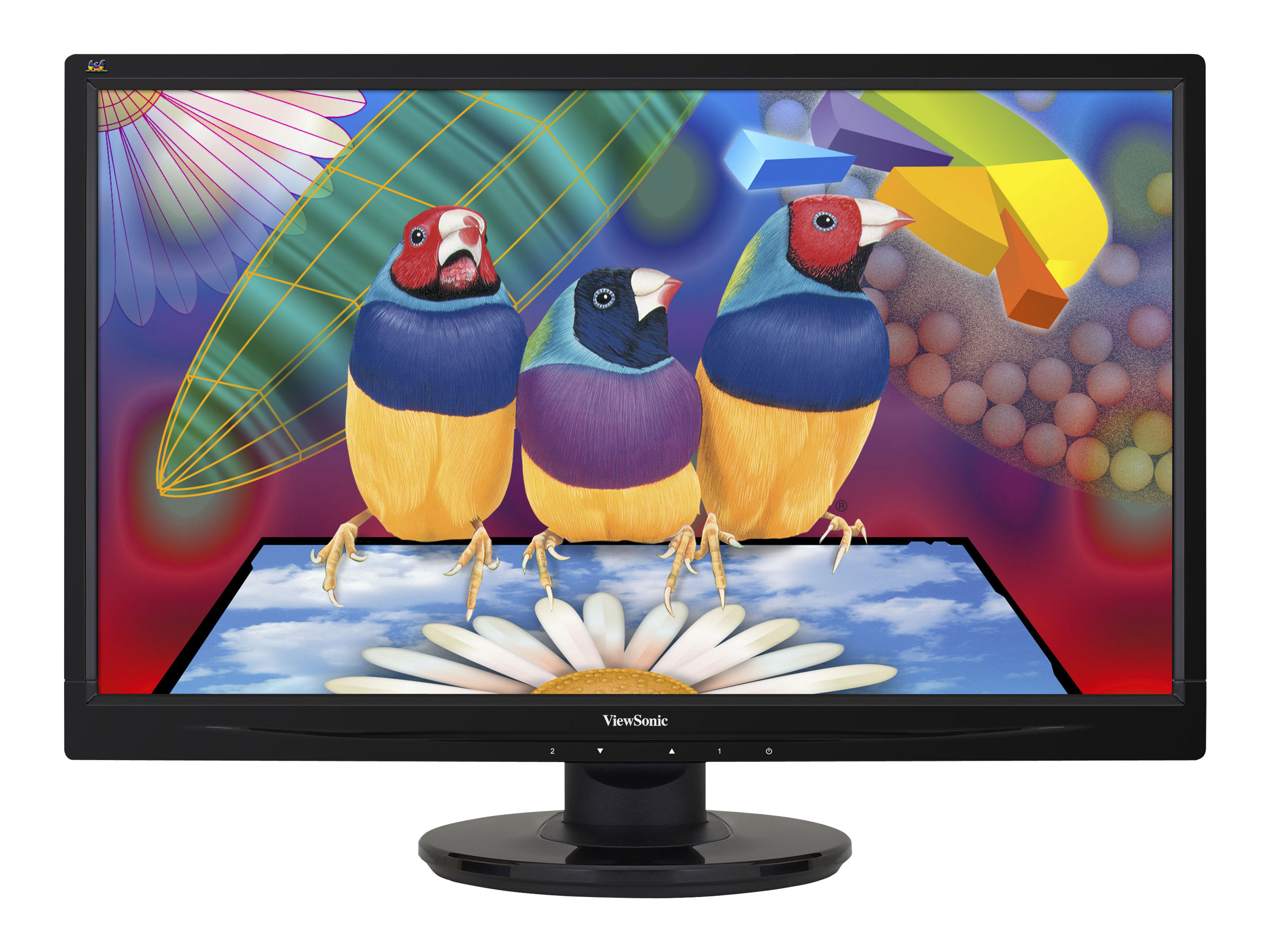 ViewSonic VA2445-LED - LED-Monitor - 61 cm (24