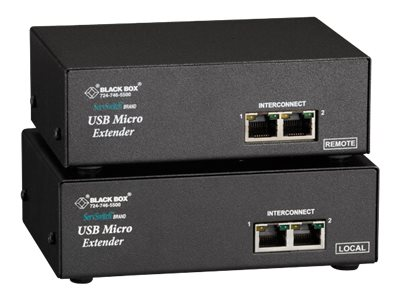 Black Box ServSwitch USB Micro Extender - monitor/USB/audio/serial extender