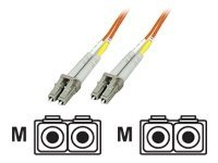 IC Intracom Network cable LC multi-mode (M) to LC multi-mode (M) 10 m fiber optic