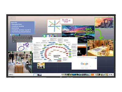 "NEC ThinkHub Standard V801-THS 80"" LED display - Full HD"