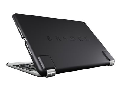 Brydge slimline Back cover for tablet silicone-coated polycarbonate black 9.7INCH