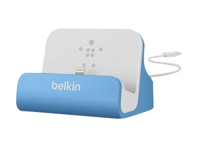 Belkin MIXIT ChargeSync Dock Docking station for cellular phone, digital player blue