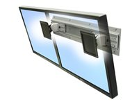 Ergotron Neo-Flex Dual Monitor Wall Mount - Mounting kit for dual flat panel
