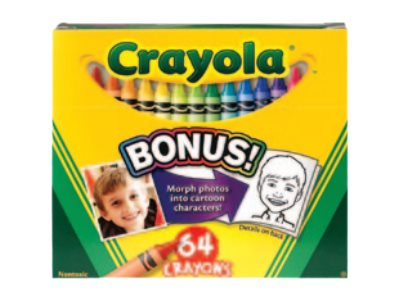 Crayola Crayon assorted colors pack of 64