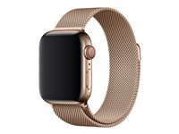 Apple 40mm Milanese Loop - Bracelet de montre - 130 - 180 mm - or - pour Watch (38 mm, 40 mm)