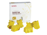 Xerox Phaser 8860MFP - Pack de 6 - jaune - encres solides - pour Phaser 8860, 8860DN, 8860MFP, 8860MFP/D, 8860MFP/E, 8860MFP/SD, 8860PP, 8860WDN