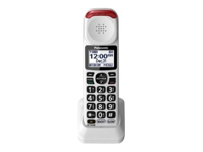 Panasonic KX-TGMA44W Cordless extension handset with caller ID DECT 6.0 Plus white